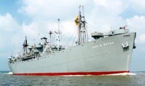 SS John W Brown Ship